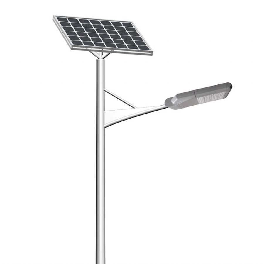 single arm LED solar street light