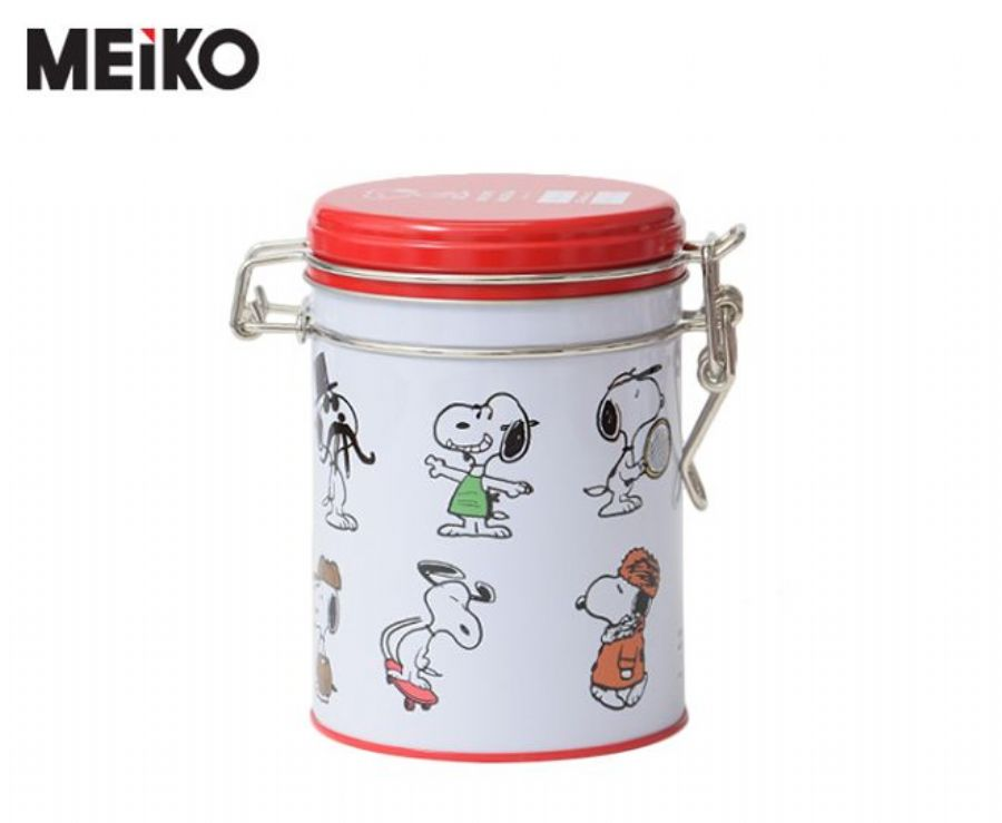 Hot Sale Airtight Round Candy Tin Can Chocolate Tin Storage Container
