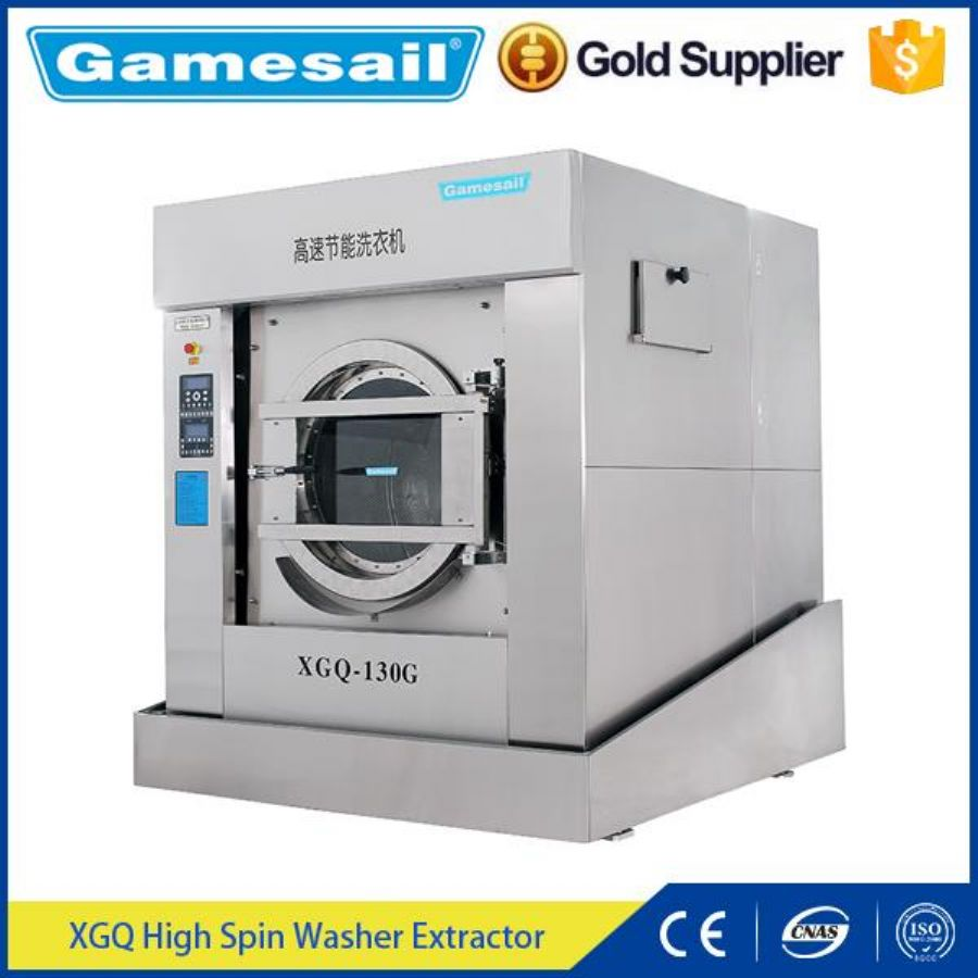 Front Loading Washing Machine Laundry Equipment Washer Extractor