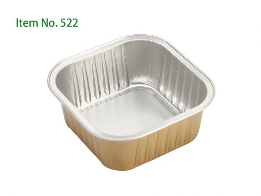 Disposable Aluminium Small Cupcake Cake Pans Cake Tins With Color Coated