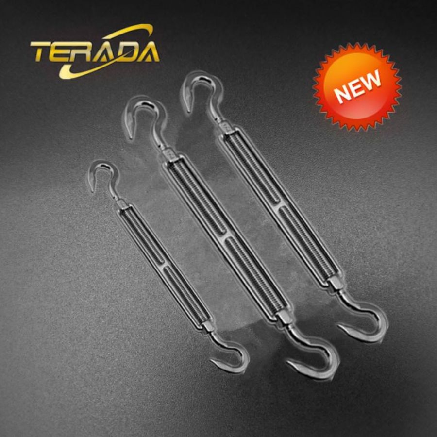 Forged Hook & Hook Turnbuckle Grade: 316 Stainless Steel