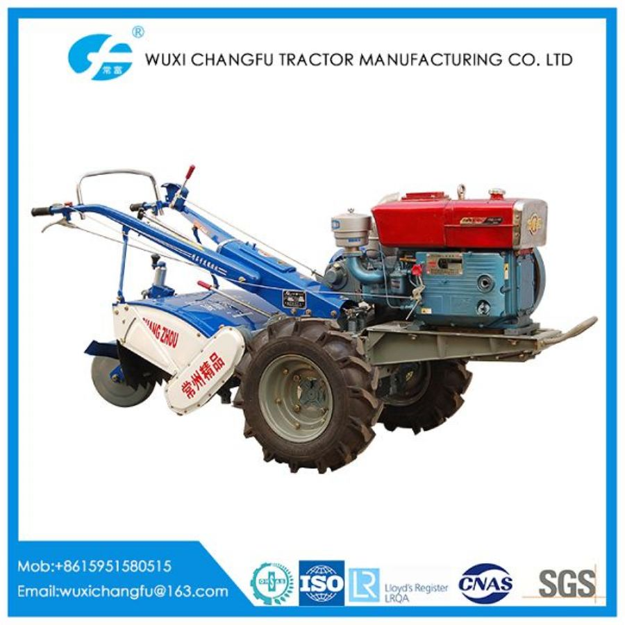 DF-12 12HP Chain Drive Walking Tractor