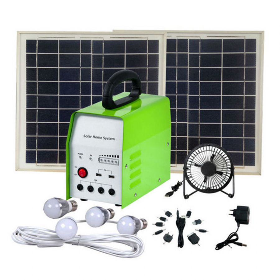 DC Solar Home Light System