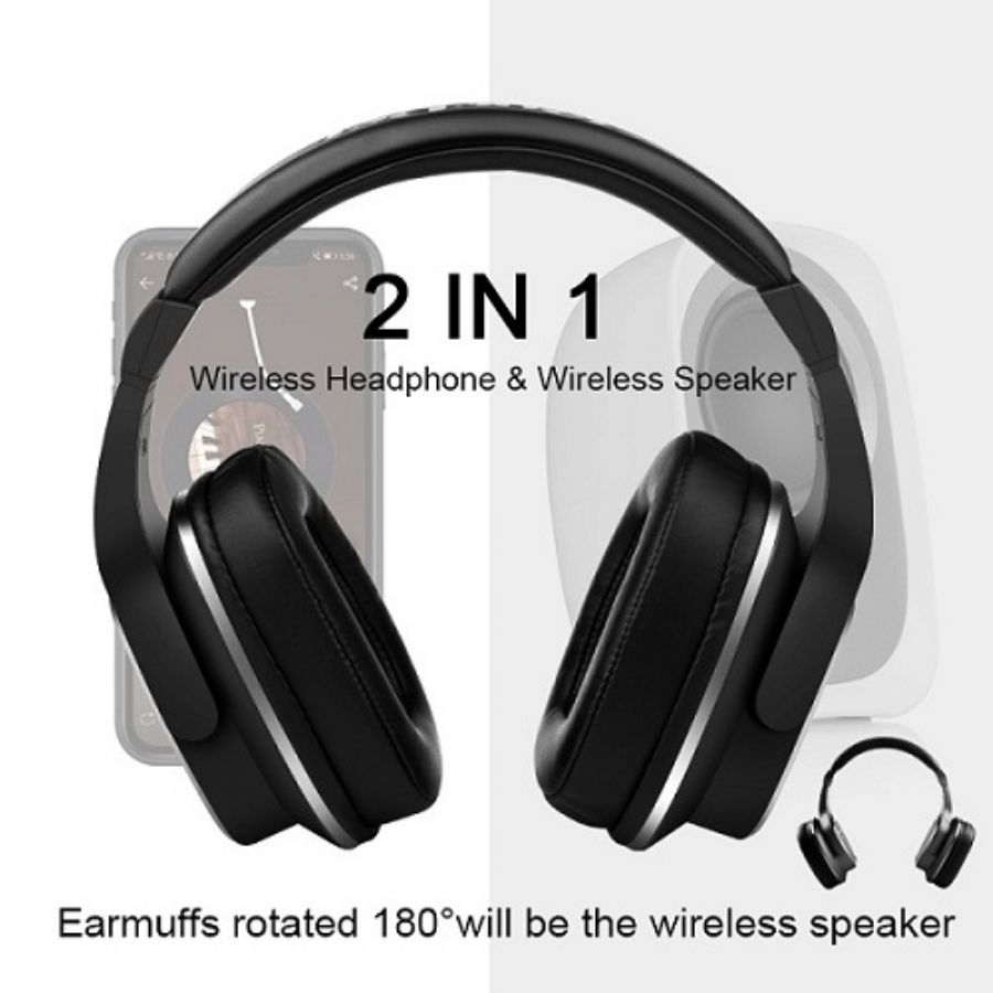 S2 2 IN 1 Design Wireless Headphone & Wireless Speaker
