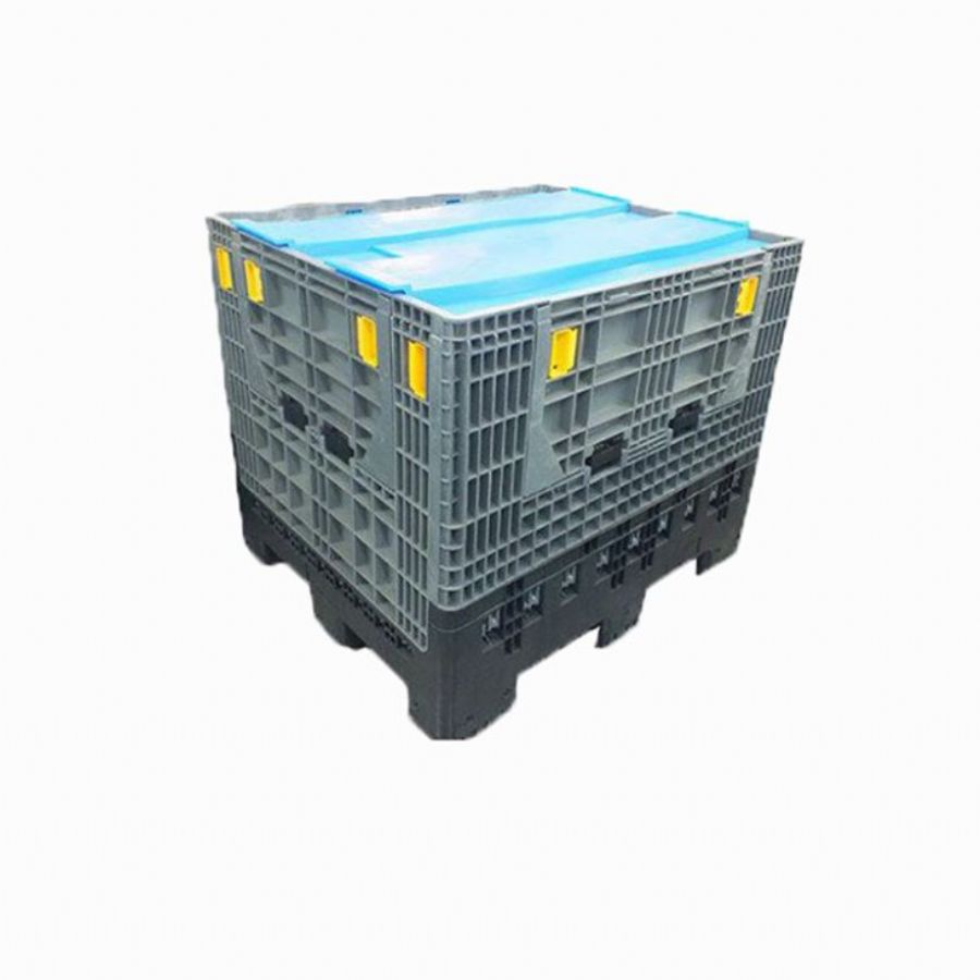 Foldable Fruit And Vegetable Storage Plastic Pallet Containers Boxes